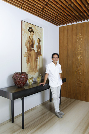 Irwan Hidayat - Director Sidomuncul. Portrait Photography by Yunaidi Joepoet - Jakarta, Indonesia