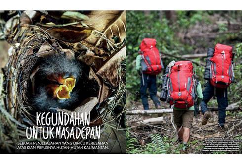 Yunaidi Joepoet for EIGER Black Borneo E