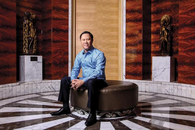 Bayu Priawan Djokosoetono - Chairman Blue Bird Group Holding. Portrait Photography by Yunaidi Joepoet - Jakarta, Indonesia