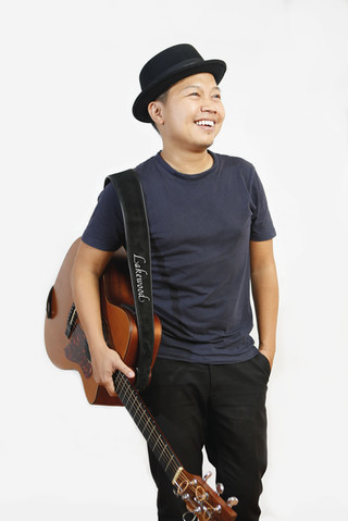 Sandhy Sondoro - Indonesian Singer-Songwriter. Portrait Photography by Yunaidi Joepoet - Jakarta, Indonesia