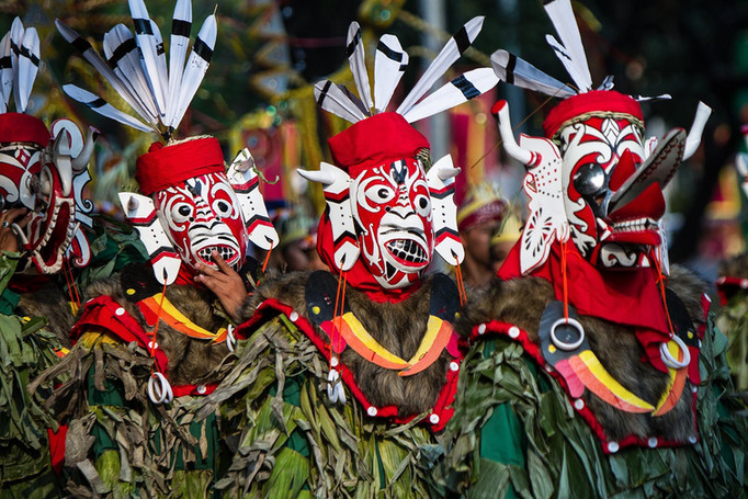 Hudoq Dayak, East Borneo, Indonesia. Travel Photography by Yunaidi Joepoet
