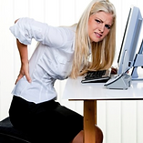 Female with back ache linked to the Disc Herniatin and Disease page
