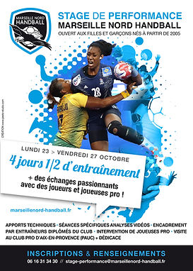 Stages Marseille Nord Handball