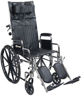 Drive Silver Sport Full Reclining Wheelchair
