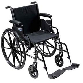 Drive Cruiser III Wheelchair 20""