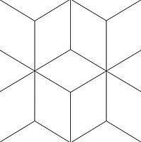 Zementfliesen-Schablone-Geometrischablone-Geometrish