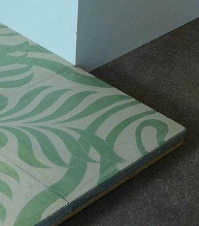 Zementfliesen-Jugendstil