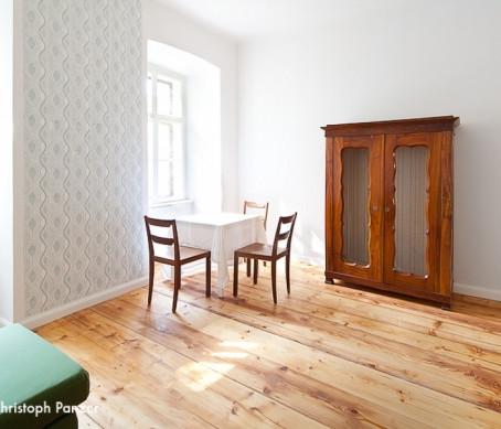 Das Potential eines alten Holzbodens