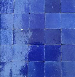 Zellig nachtblau