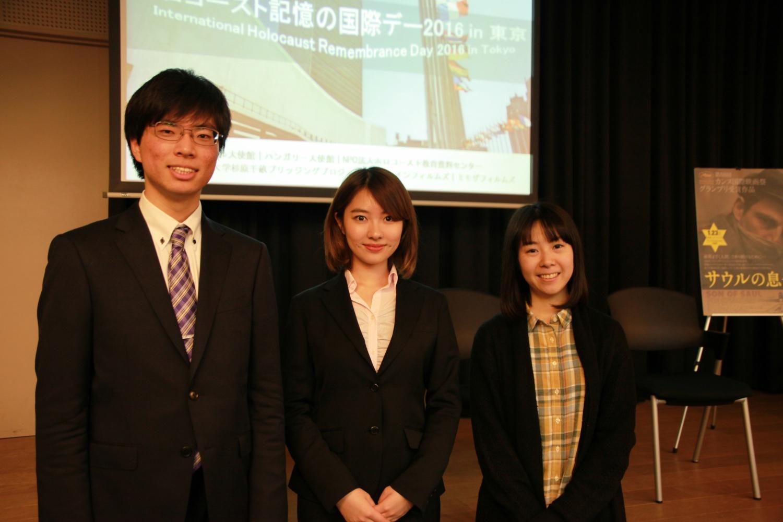 早稲田大学 千畝ブリッジングプロジェクトの皆さん