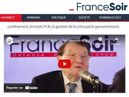 Le Défi de la vérité : Luc Montagnier, prix Nobel de médecine