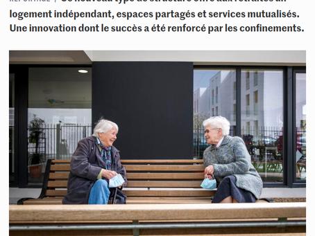 Le béguinage, habitat alternatif pour celles et ceux qui refusent la maison de retraite et ...