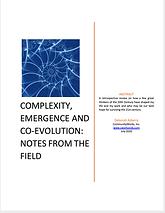 DA-18 Complexity, Emergence and co-evolu