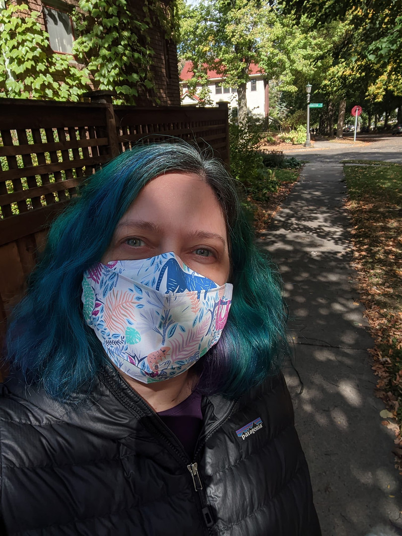 Masks in the wild. Stay safe, beautifully