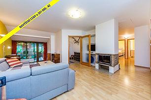 Prostorný byt 4+kk s terasou a vnitřním krbem v Tetíně u Berouna