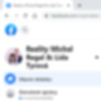 Facebook makléři Michal Regal a Lída Tyr