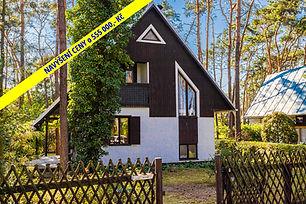 Prodej chaty pro trvalé bydlení, 3+kk (70 m2) v blízkosti jezera a borového lesa