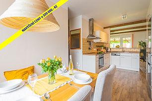 Prodej řadového rodinného domu 4+1, 101 m2, Buštěhrad – Ořešín