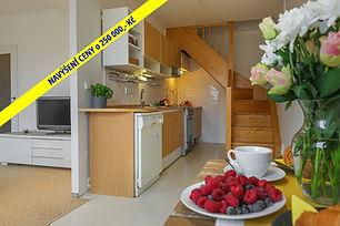 Výjimečný mezonetový byt 2+kk, 54 m2 (terasa 12 m2)