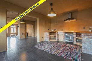 Prodej rodinného domu (174 m2) po částečné rekonstrukci s velkou dílnou, Křenek