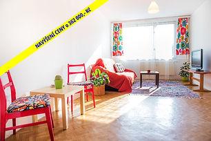 Prodej bytu 3+kk v OV (62 m2) před rekonstrukcí