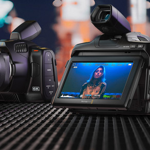 Nova Blackmagic Pocket Cinema Camera 6K Pro já disponível