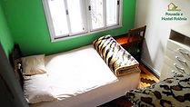 Quarto com Banheiro Privativo em Pousada e Hostel Polônia Porto Alegre