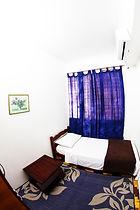 Quarto com ar condicionado em Pousada e Hostel Polônia Porto Alegre