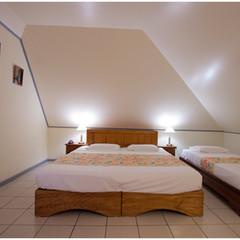 Room of the hotel La Fournaise
