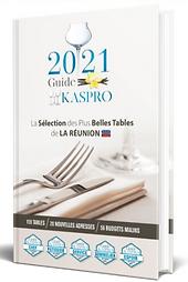 GUIDE KASPRO 2021 plus belle table de l'ile de la réunion