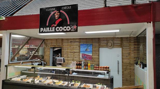 Stand de Paille Coco 63 - Traiteur Marché St pierre Clermont Ferrand