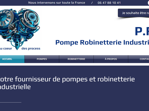 Supplier of industrial pumps and valves - France