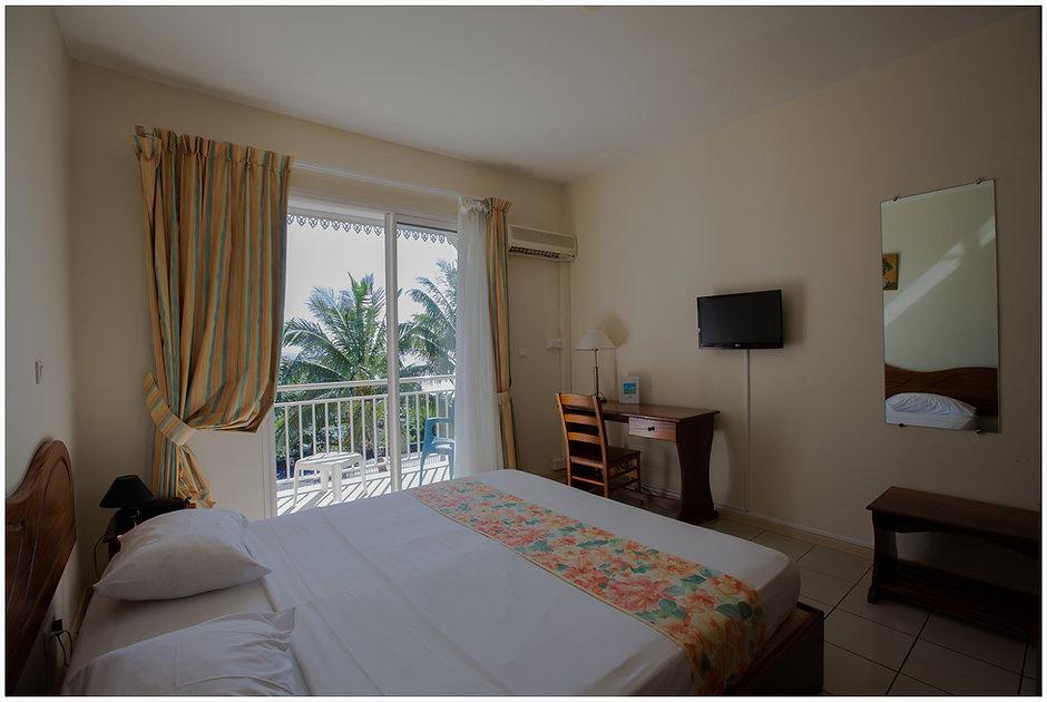 Chambre Hôtel la Fournaise Ste Rose Ile de la Réunion