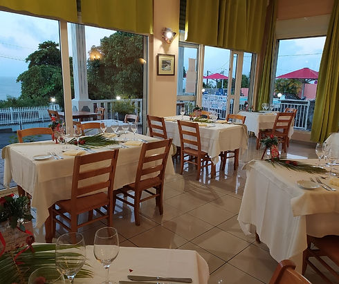 Salle du restaurant Gingembre-Combava
