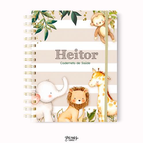 Caderneta de Saúde - Safari bege