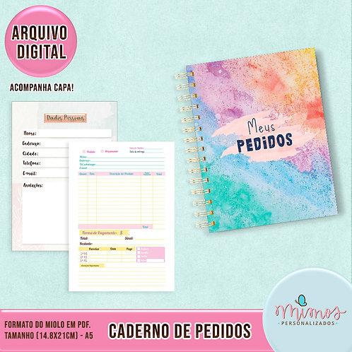 Caderno de Pedidos - Arquivo Digital