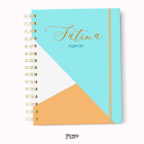Agenda Mimos - Blue Triangular