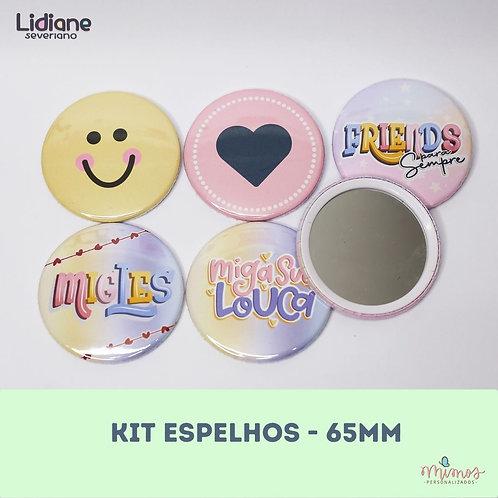 Kit Espelhos -  Especial Amigas