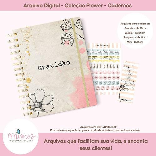 Coleção Flower - Cadernos - ARQUIVO DIGITAL