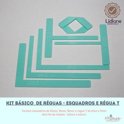 Kit Básico de Réguas - Esquadros