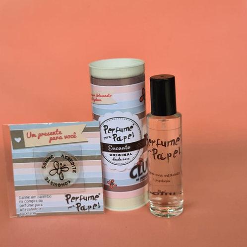 Perfume para Papel ENCANTO - EXCLUSIVO para o CLUBE DE ENCADERNAÇÃO