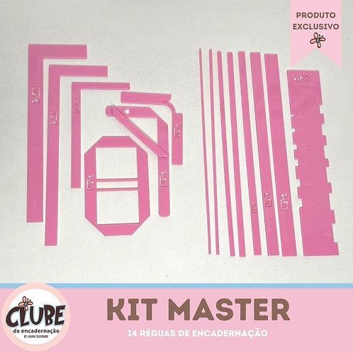Kit Master - Réguas de Encadernação do Clube