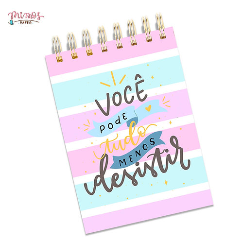 Bloquinho Mimos A6 - Lettering
