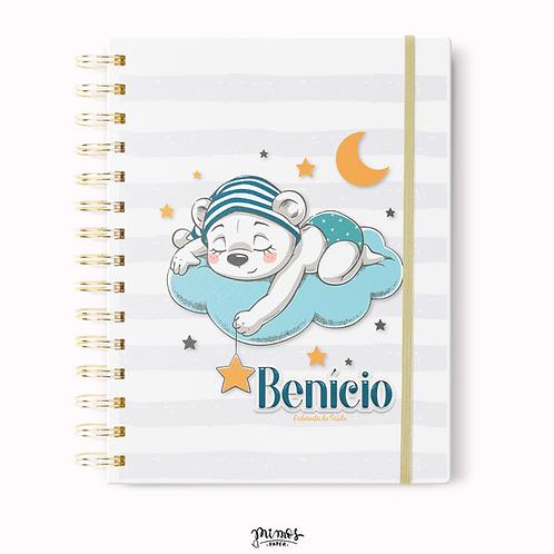 Caderneta de Saúde - Ursinho na nuvem