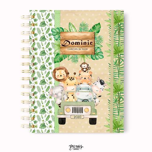 Caderneta de Saúde - Safari Verde