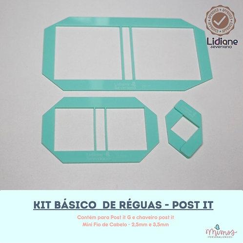 Kit Básico de Réguas - Post it