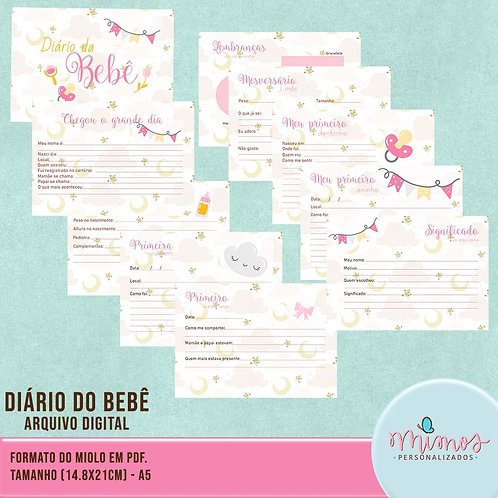 Diário do Bebê Menina - Arquivo Digital