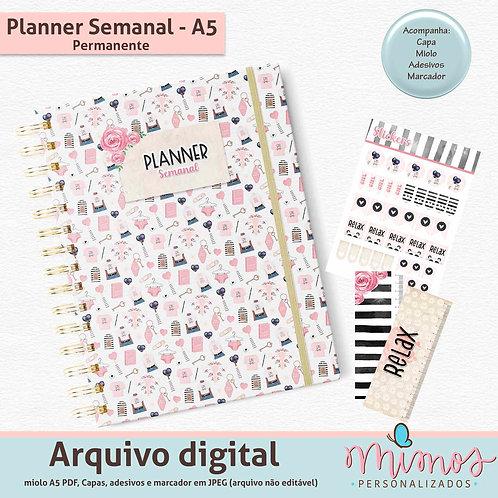 Combo Basic - Agenda e Planner Semanal
