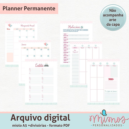 Planner A5 Permanente