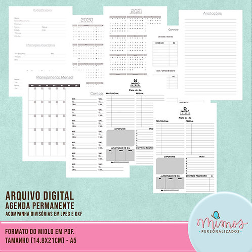 Agenda Permanente - ARQUIVO DIGITAL